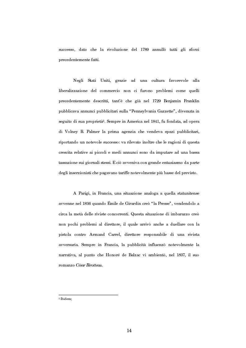 Anteprima della tesi: Nuove strategie di comunicazione nel campo pubblicitario: il caso Armando Testa, Pagina 9