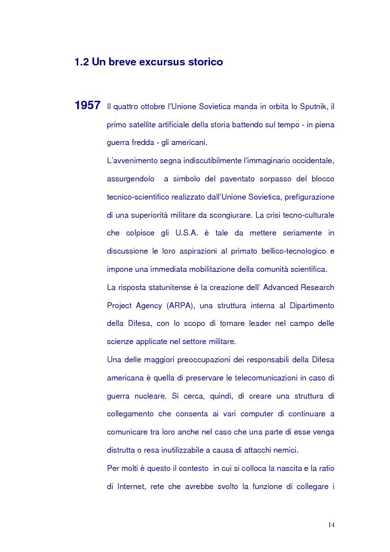 Anteprima della tesi: Net-tv: una proposta di convergenza multimediale, Pagina 10
