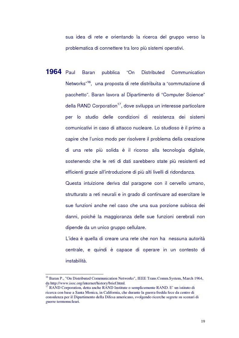 Anteprima della tesi: Net-tv: una proposta di convergenza multimediale, Pagina 15