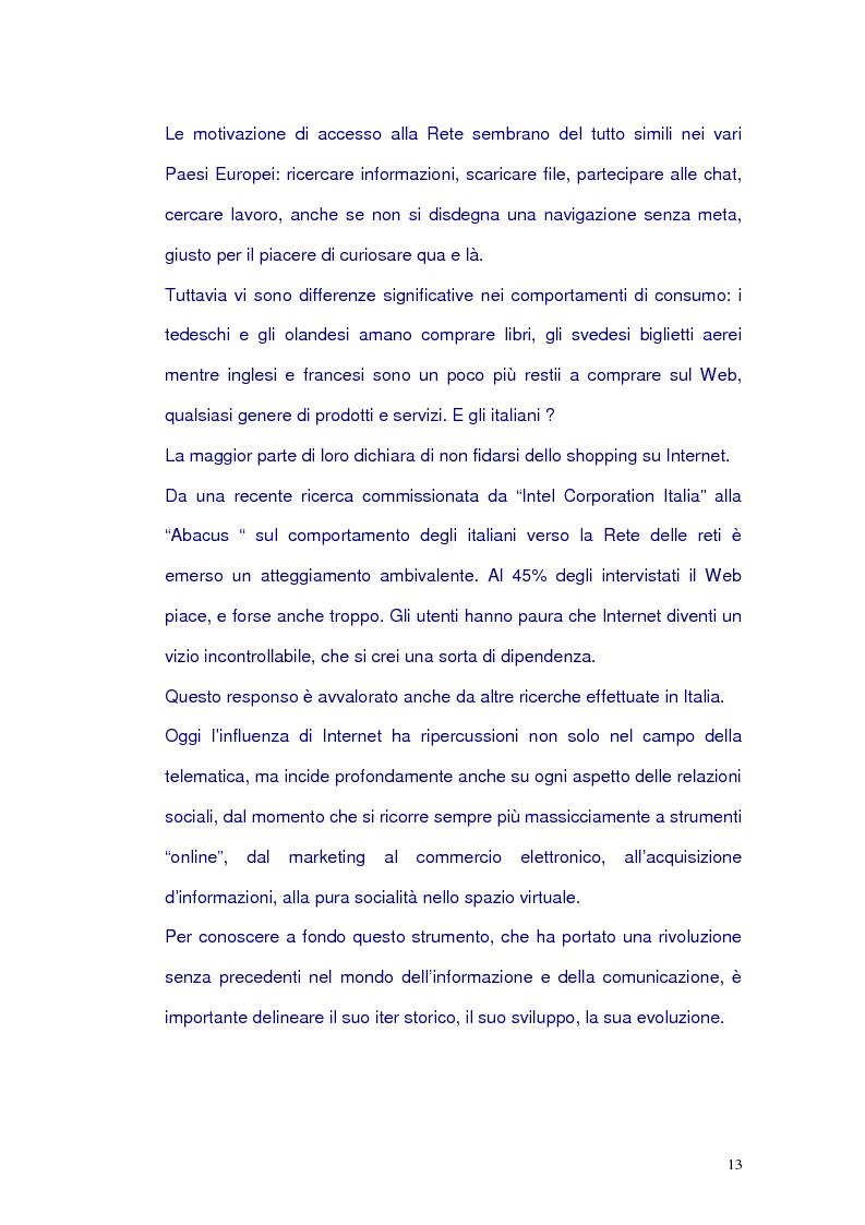 Anteprima della tesi: Net-tv: una proposta di convergenza multimediale, Pagina 9