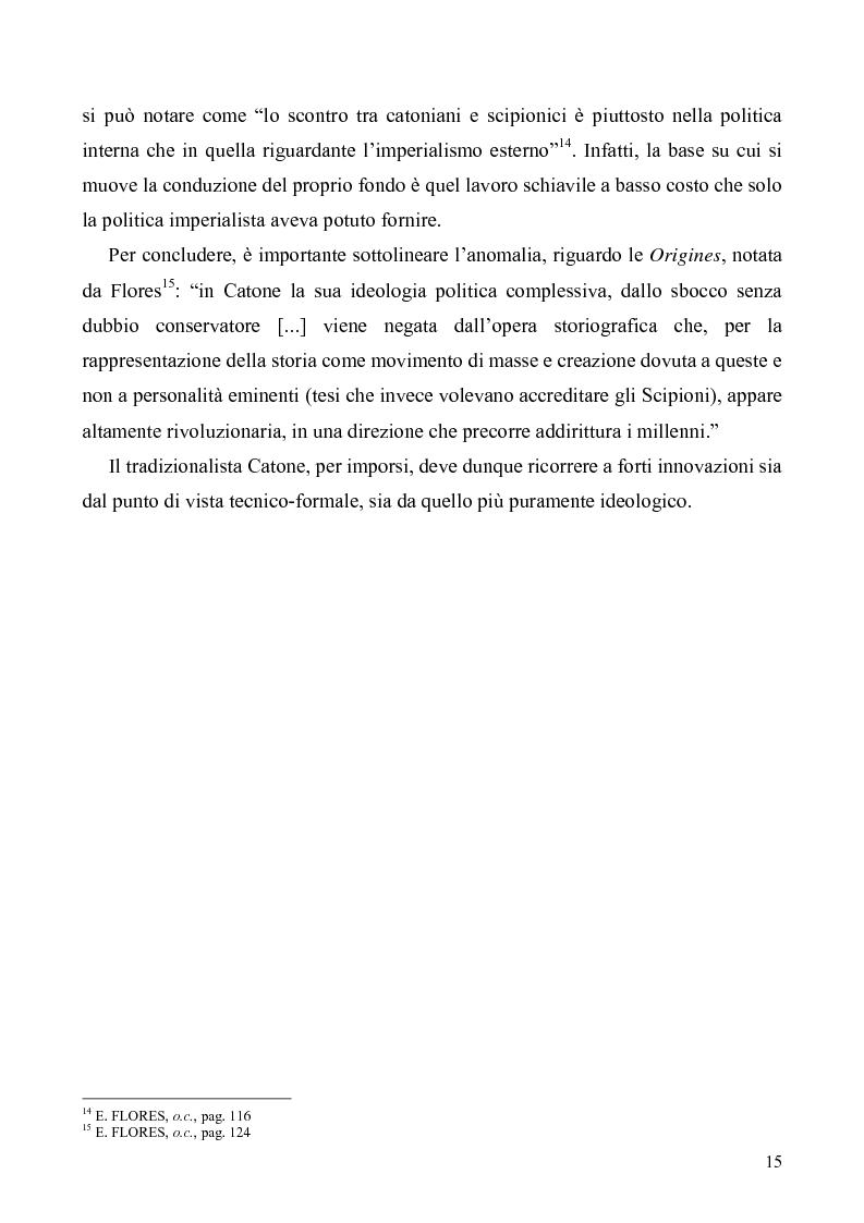 Anteprima della tesi: I libri I-IV delle Origines di Catone, Pagina 12