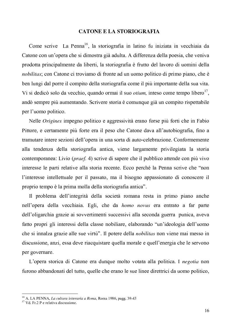 Anteprima della tesi: I libri I-IV delle Origines di Catone, Pagina 13