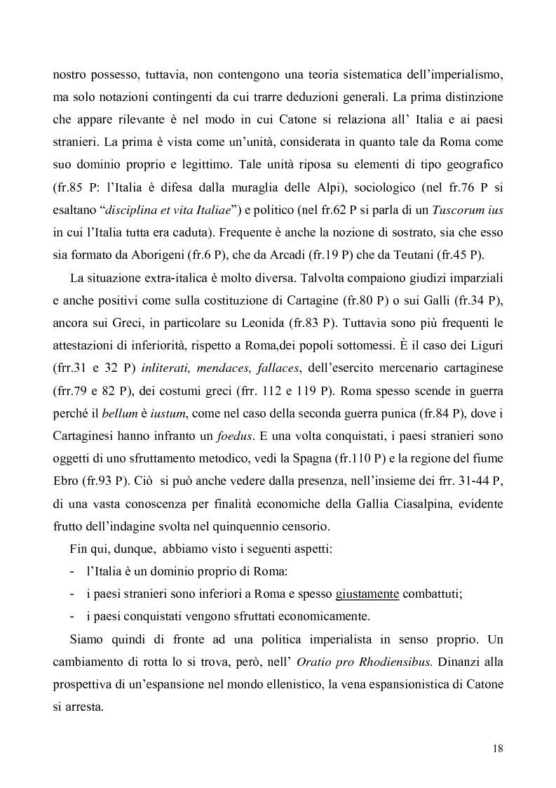 Anteprima della tesi: I libri I-IV delle Origines di Catone, Pagina 15