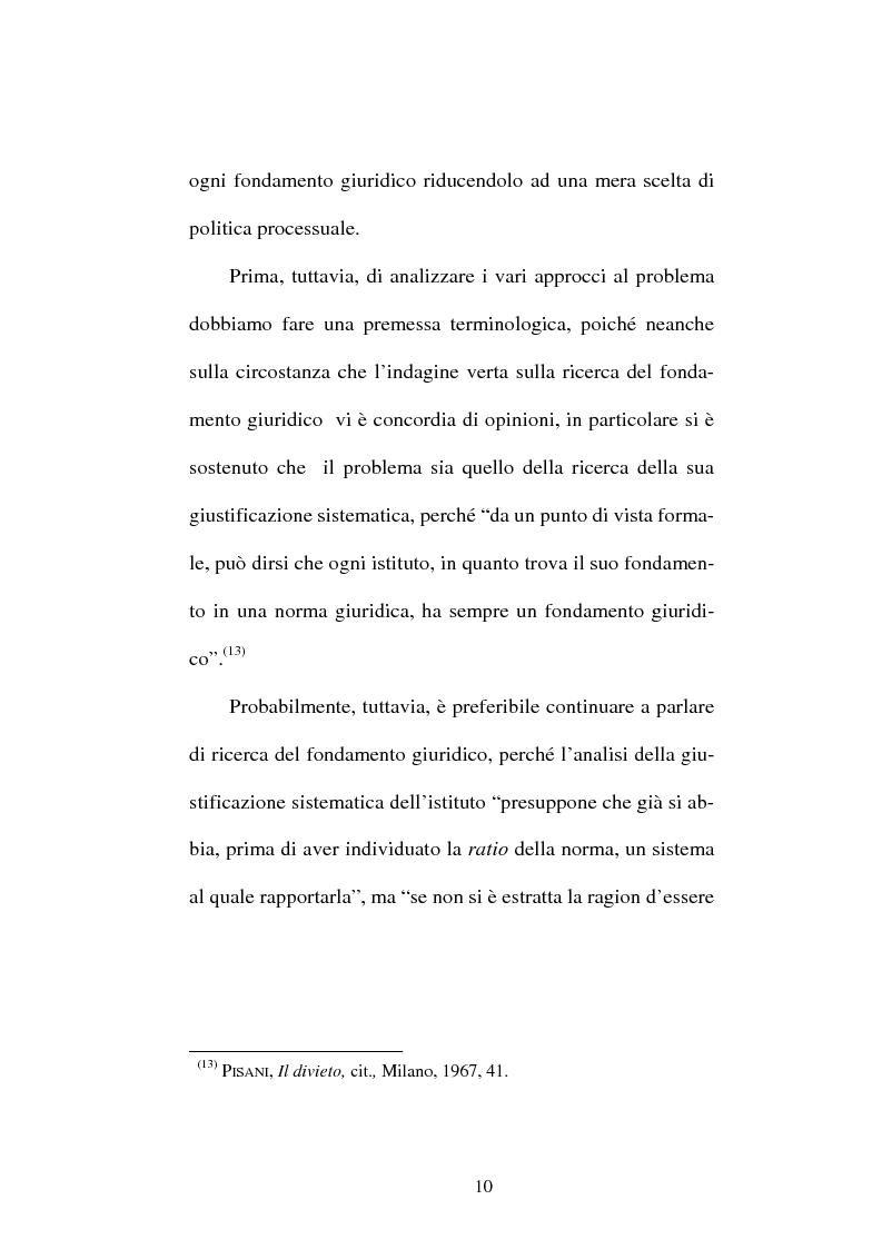 Anteprima della tesi: Il divieto di reformatio in peius nel processo penale, Pagina 10