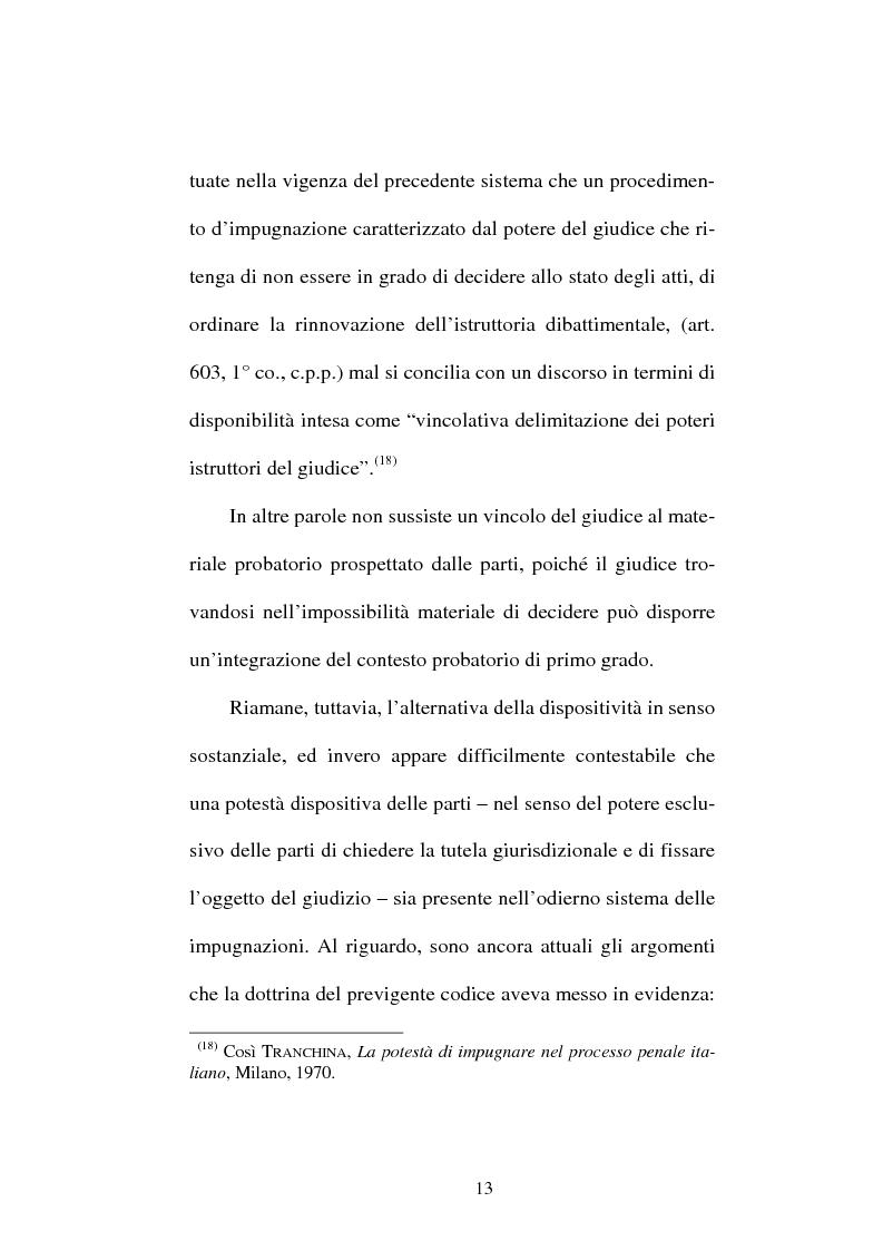 Anteprima della tesi: Il divieto di reformatio in peius nel processo penale, Pagina 13