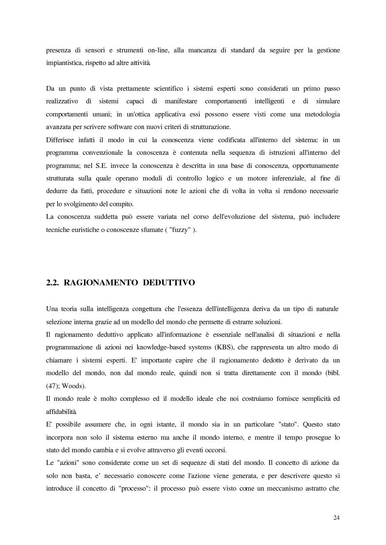 Anteprima della tesi: Analisi, aggiornamento e validazione di un sistema esperto per la gestione degli impianti di depurazione a fanghi attivi, Pagina 12