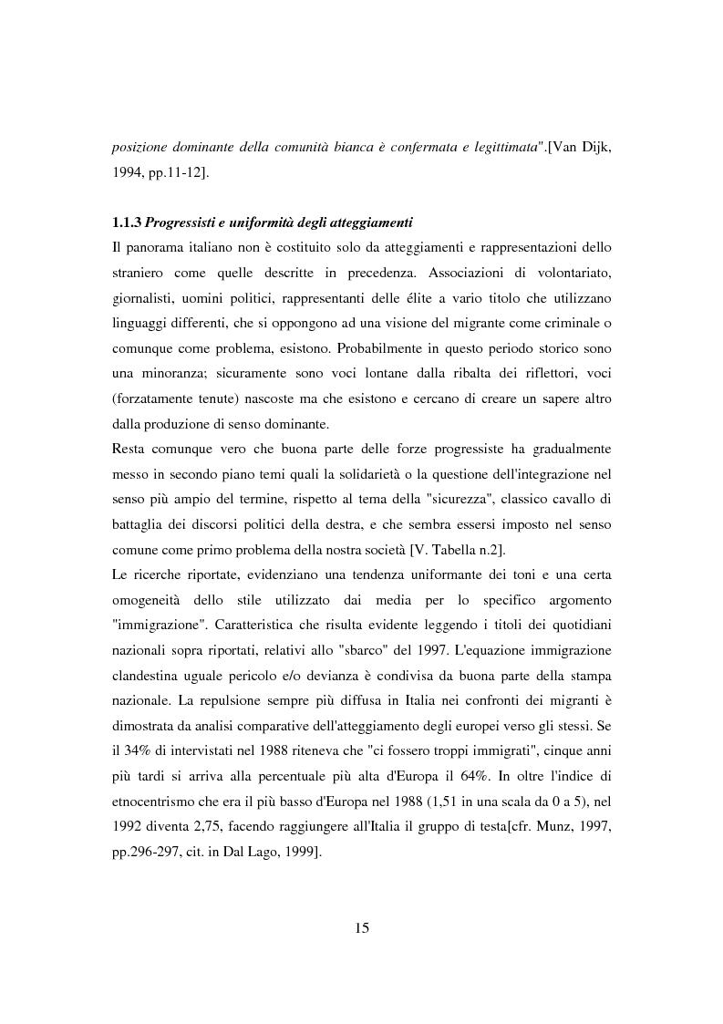 Anteprima della tesi: Il ponte spezzato. Richiedenti asilo politico a Milano tra società di arrivo e possibilità di socializzazione, Pagina 11