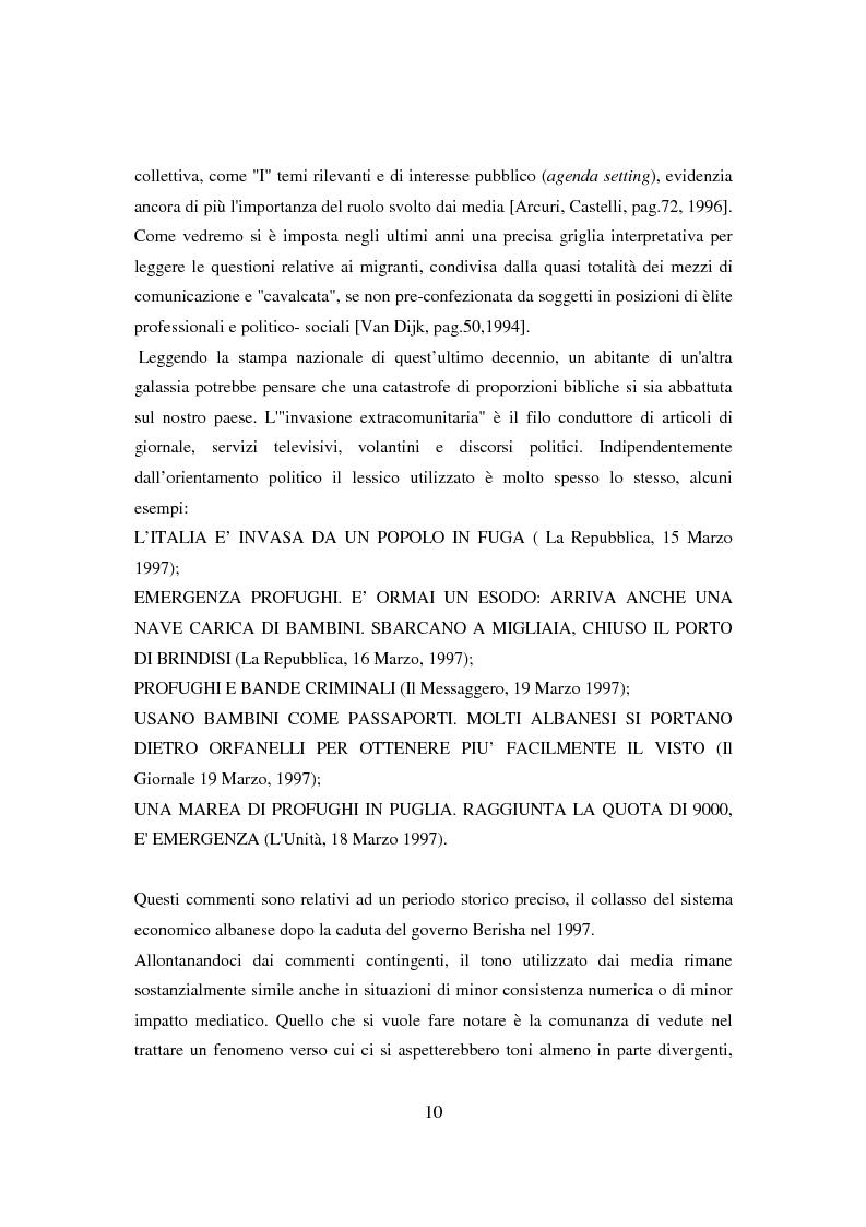 Anteprima della tesi: Il ponte spezzato. Richiedenti asilo politico a Milano tra società di arrivo e possibilità di socializzazione, Pagina 6