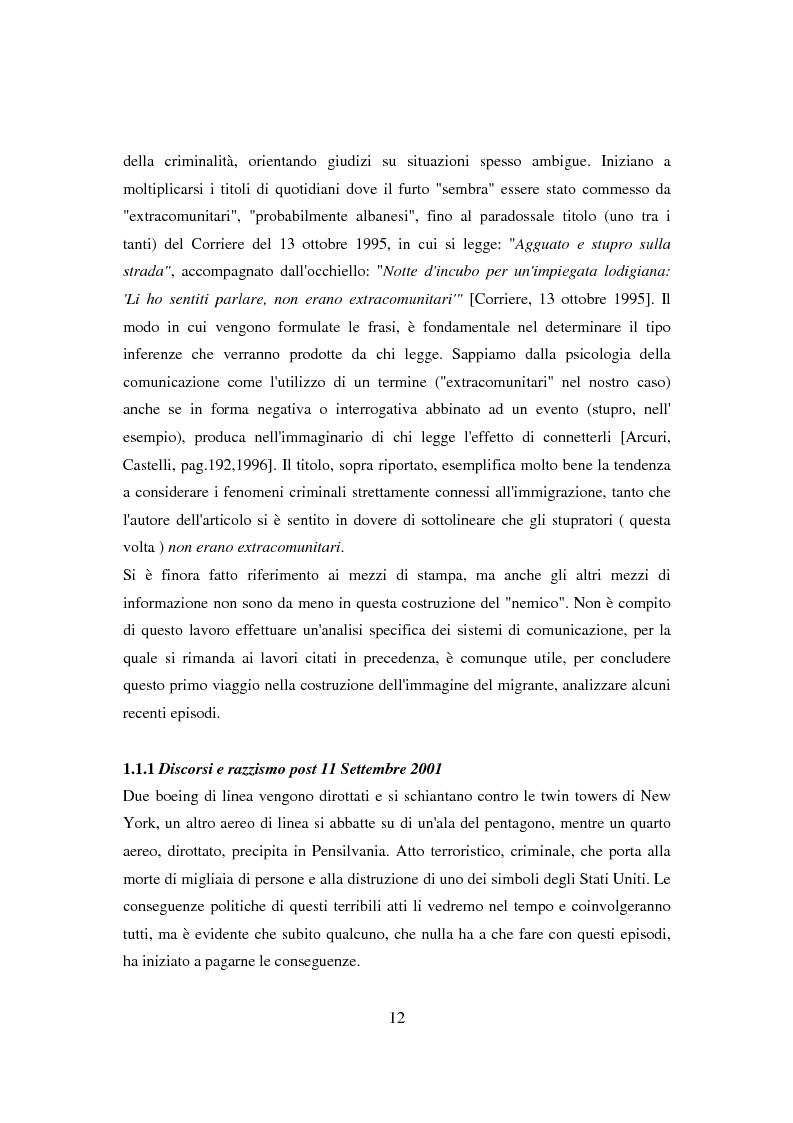 Anteprima della tesi: Il ponte spezzato. Richiedenti asilo politico a Milano tra società di arrivo e possibilità di socializzazione, Pagina 8