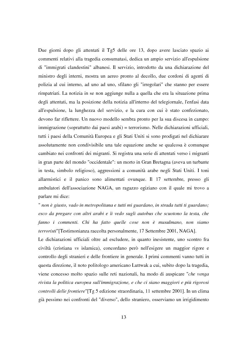Anteprima della tesi: Il ponte spezzato. Richiedenti asilo politico a Milano tra società di arrivo e possibilità di socializzazione, Pagina 9