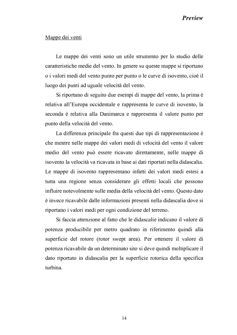 Anteprima della tesi: Stato dell'arte della produzione di energia elettrica da fonte eolica, Pagina 14