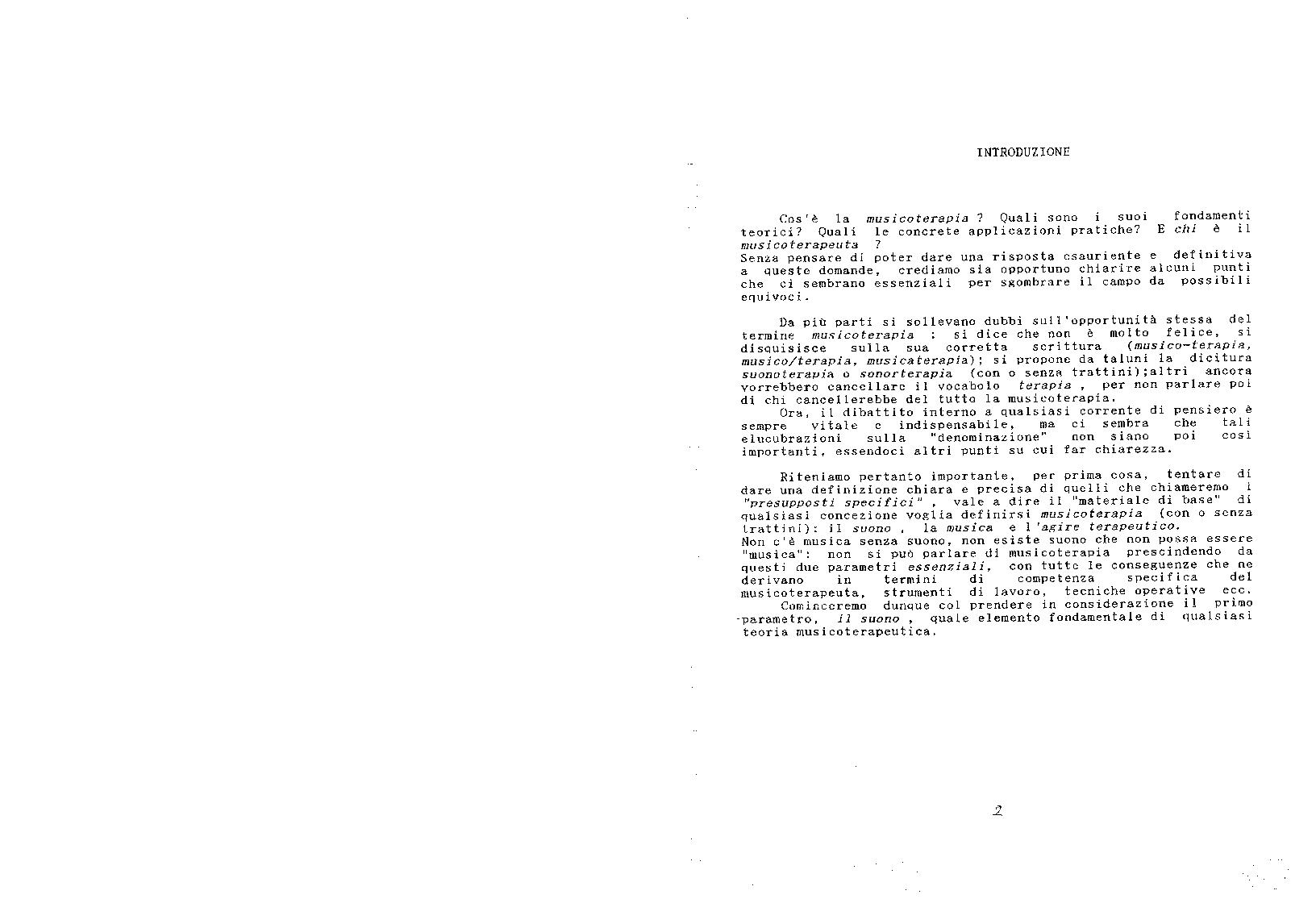 Anteprima della tesi: Le tecniche del nada-yoga nella pratica musicoterapeutica, Pagina 2