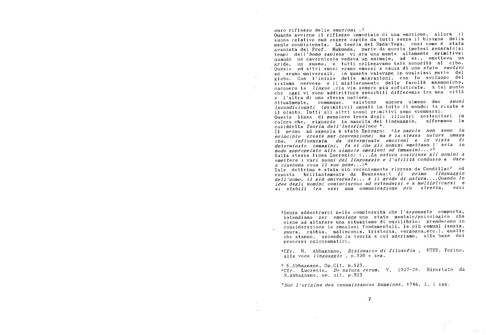 Anteprima della tesi: Le tecniche del nada-yoga nella pratica musicoterapeutica, Pagina 7