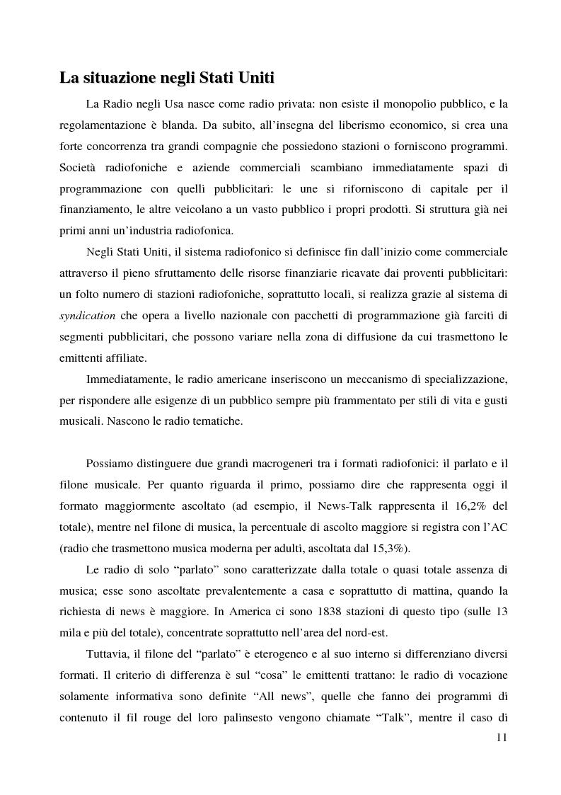 Anteprima della tesi: La radio di informazione. Il caso Radio 24, Pagina 5