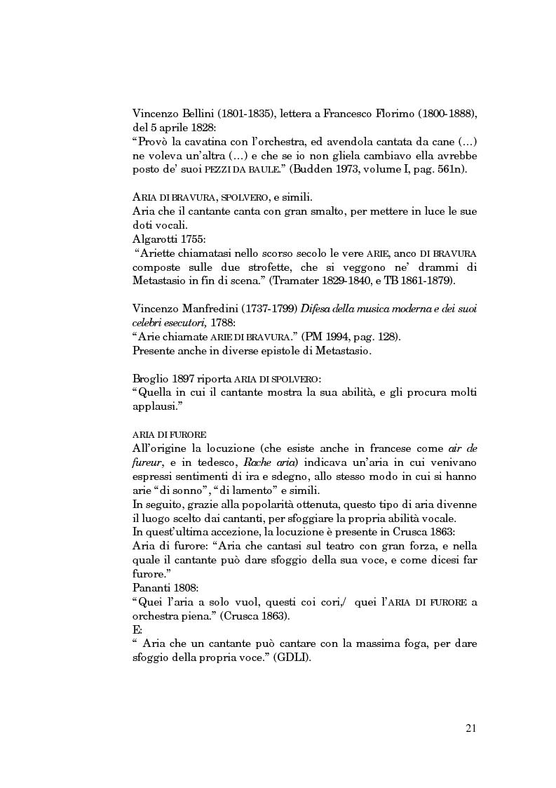 Anteprima della tesi: Lessico operistico, Pagina 10