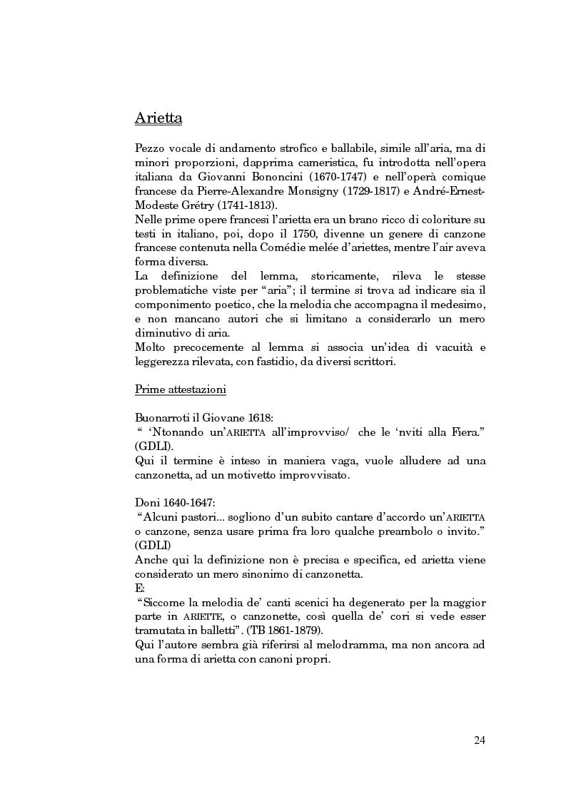 Anteprima della tesi: Lessico operistico, Pagina 13