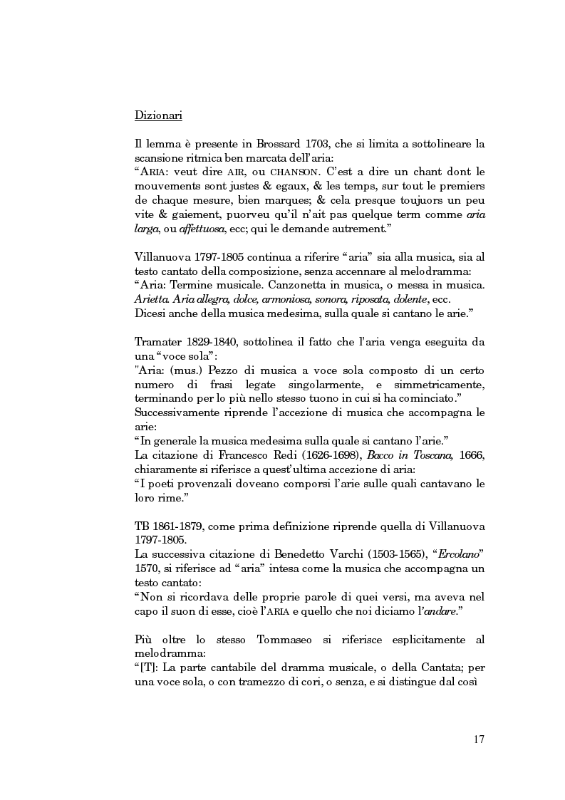 Anteprima della tesi: Lessico operistico, Pagina 6