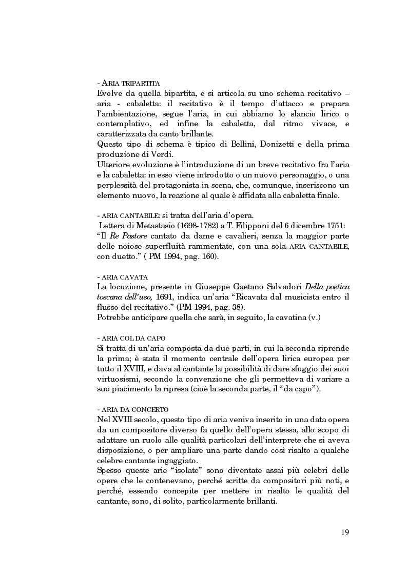 Anteprima della tesi: Lessico operistico, Pagina 8