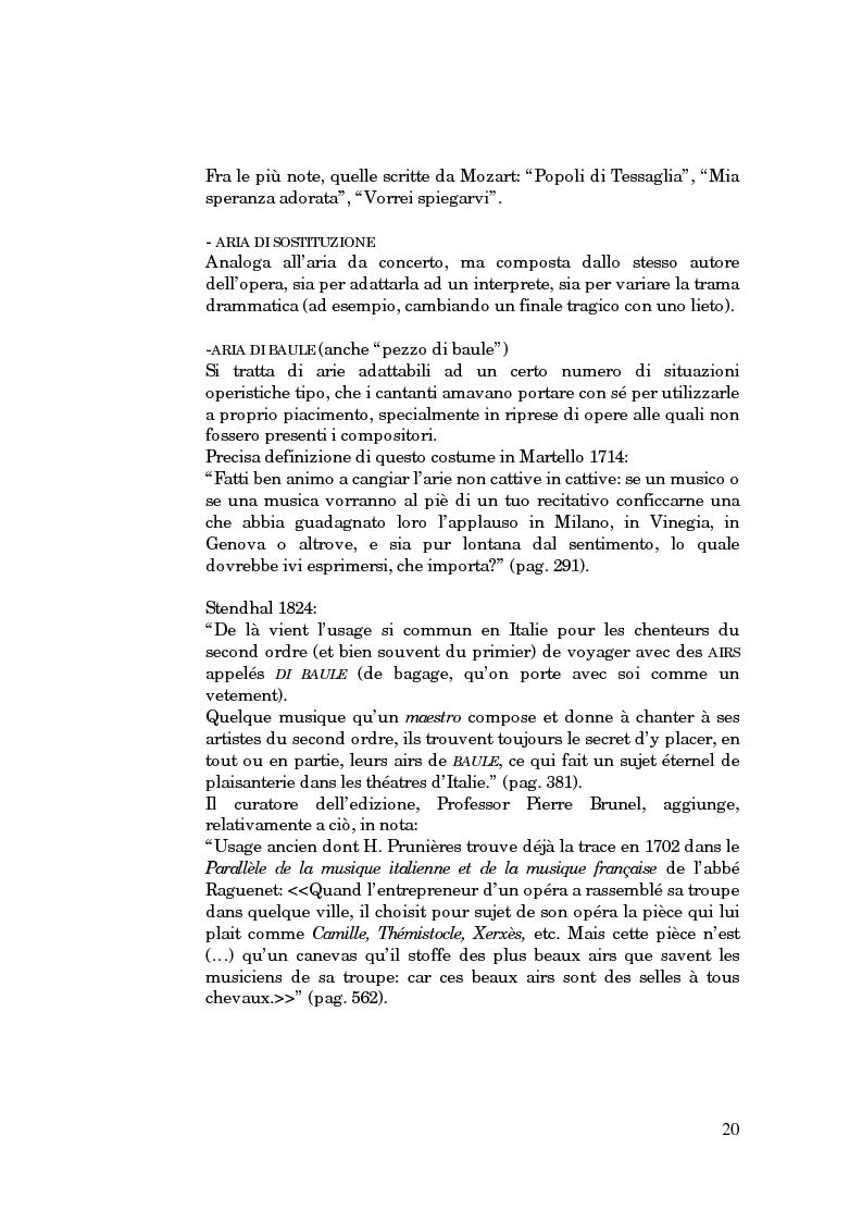 Anteprima della tesi: Lessico operistico, Pagina 9