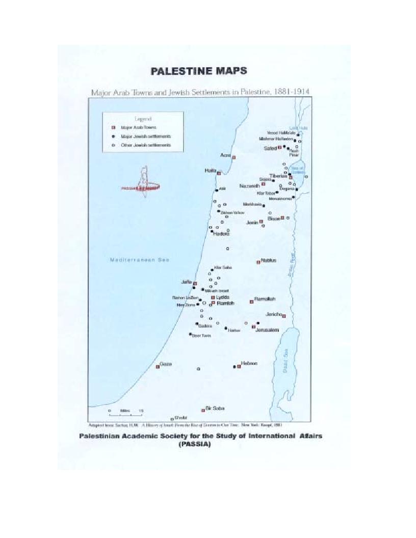 Anteprima della tesi: L'identità palestinese - La genesi di una coscienza nazionale, Pagina 10
