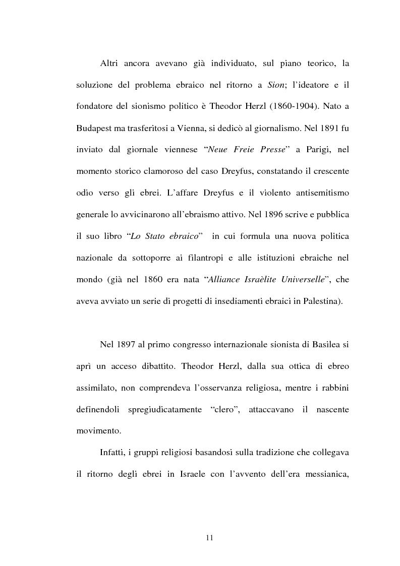 Anteprima della tesi: L'identità palestinese - La genesi di una coscienza nazionale, Pagina 13