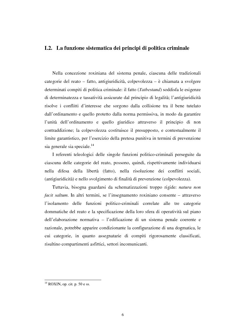 Anteprima della tesi: Istituti clemenziali in diritto penale: profili di legittimità costituzionale e di politica criminale, Pagina 11