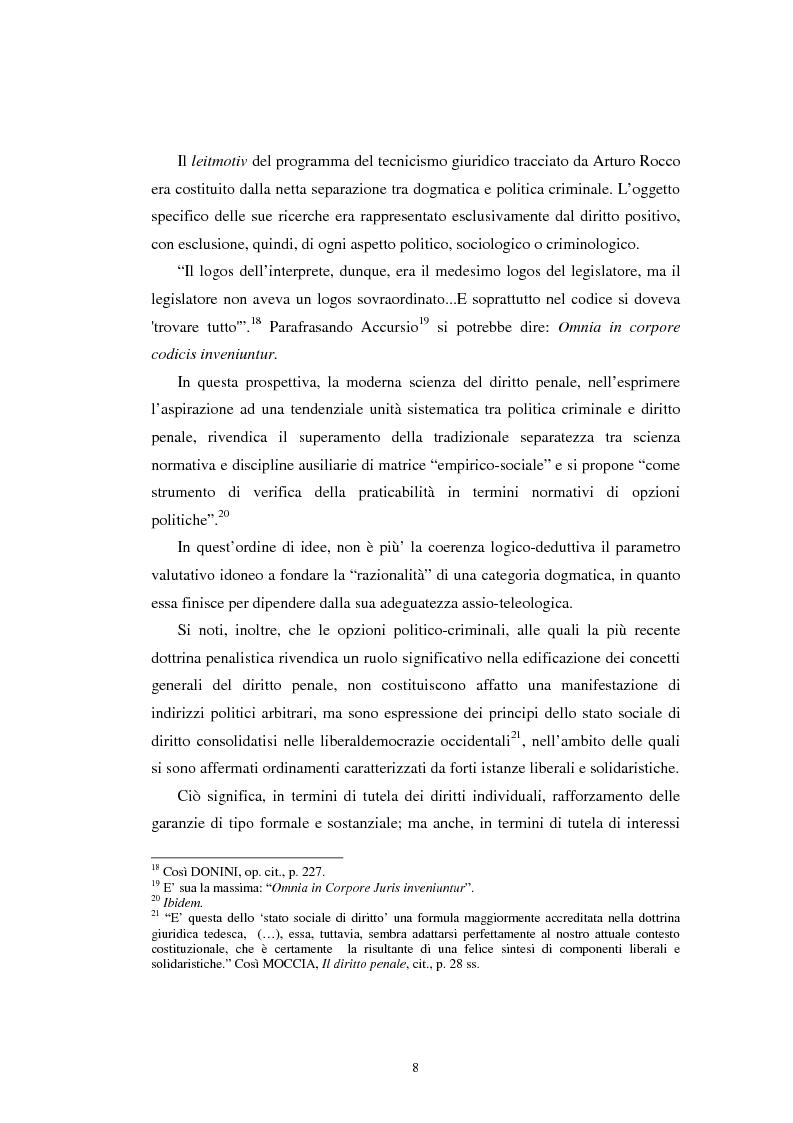 Anteprima della tesi: Istituti clemenziali in diritto penale: profili di legittimità costituzionale e di politica criminale, Pagina 13