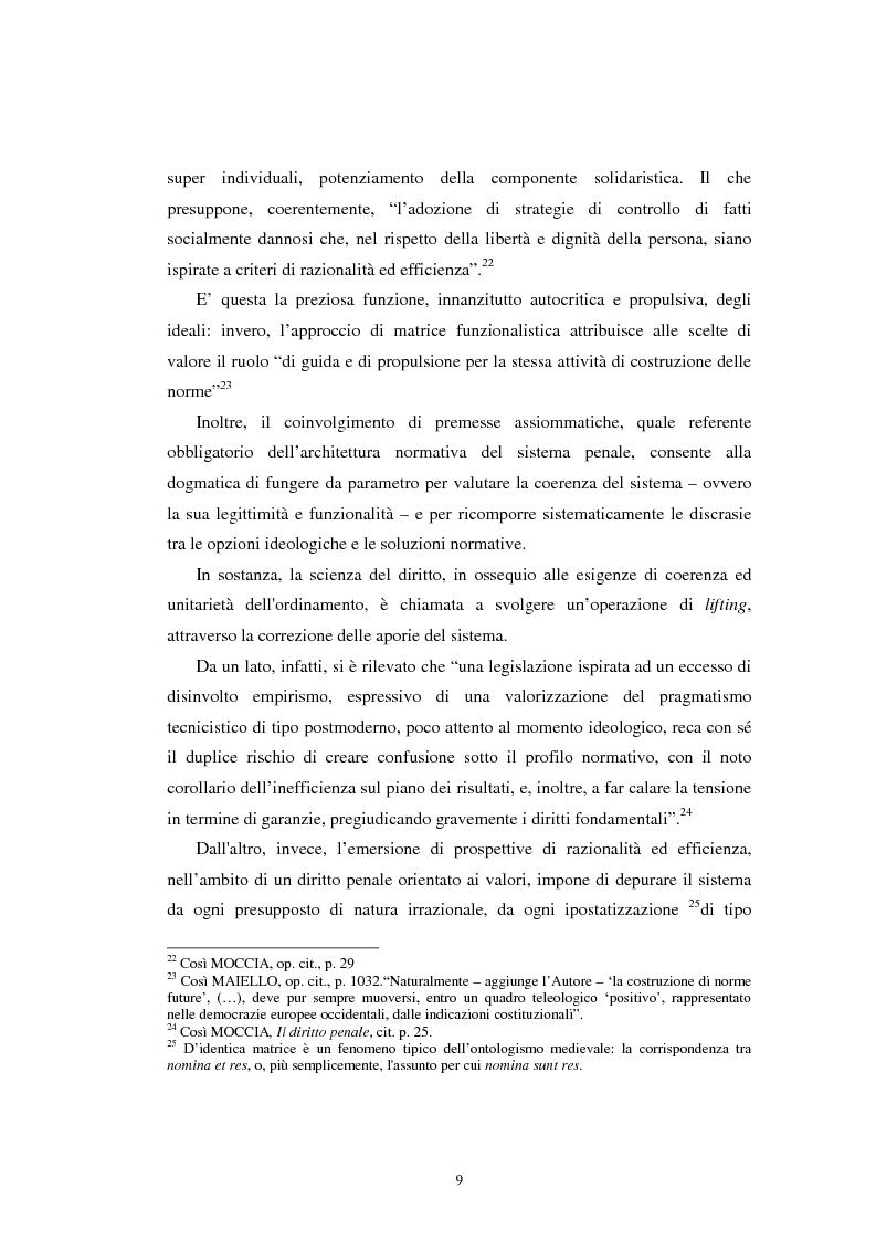 Anteprima della tesi: Istituti clemenziali in diritto penale: profili di legittimità costituzionale e di politica criminale, Pagina 14