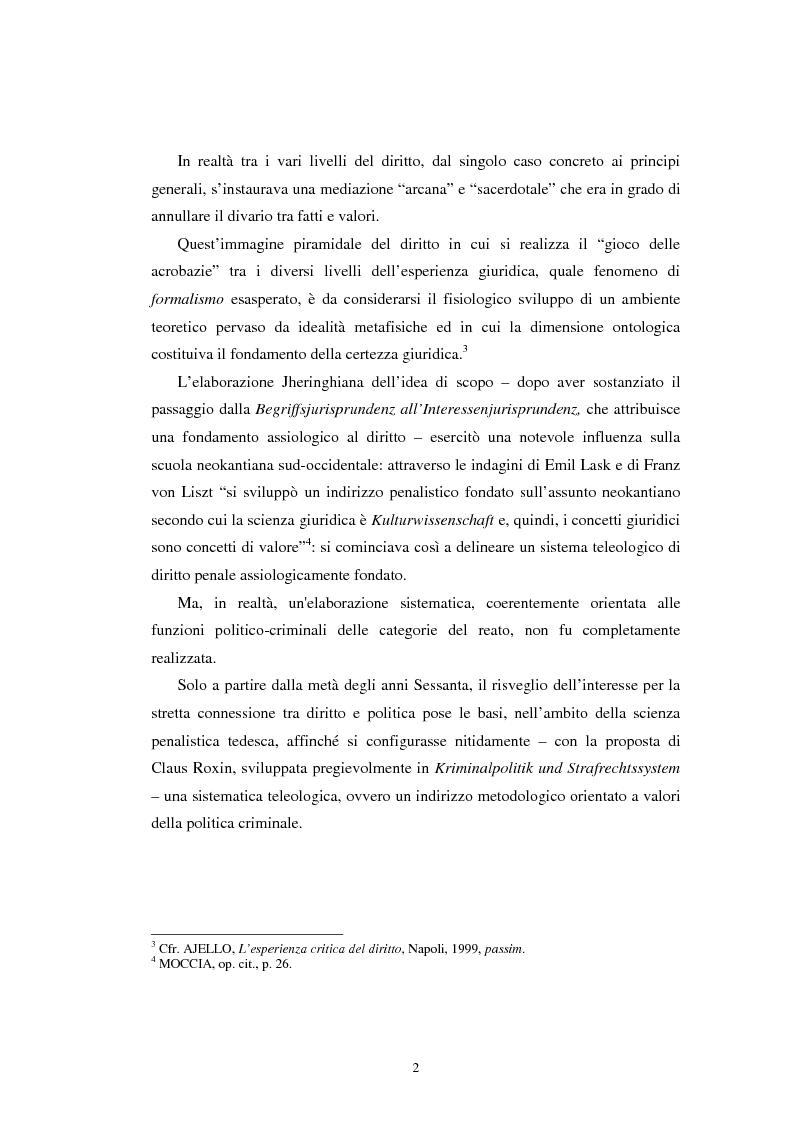 Anteprima della tesi: Istituti clemenziali in diritto penale: profili di legittimità costituzionale e di politica criminale, Pagina 7