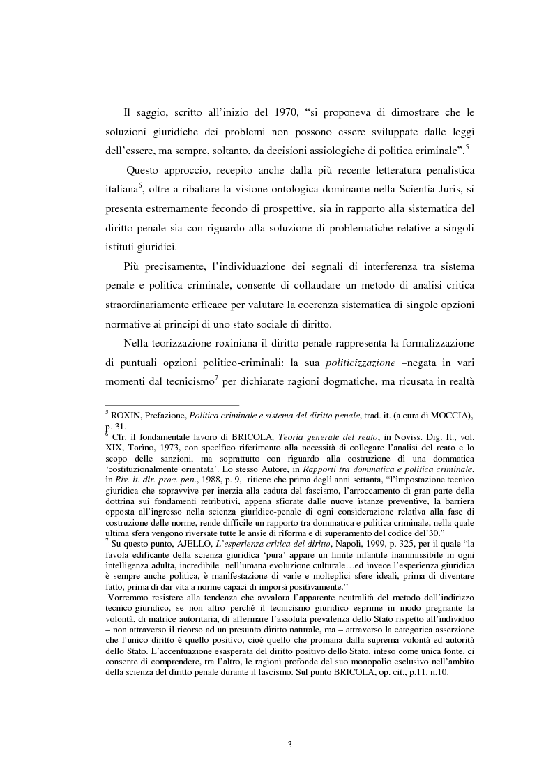 Anteprima della tesi: Istituti clemenziali in diritto penale: profili di legittimità costituzionale e di politica criminale, Pagina 8