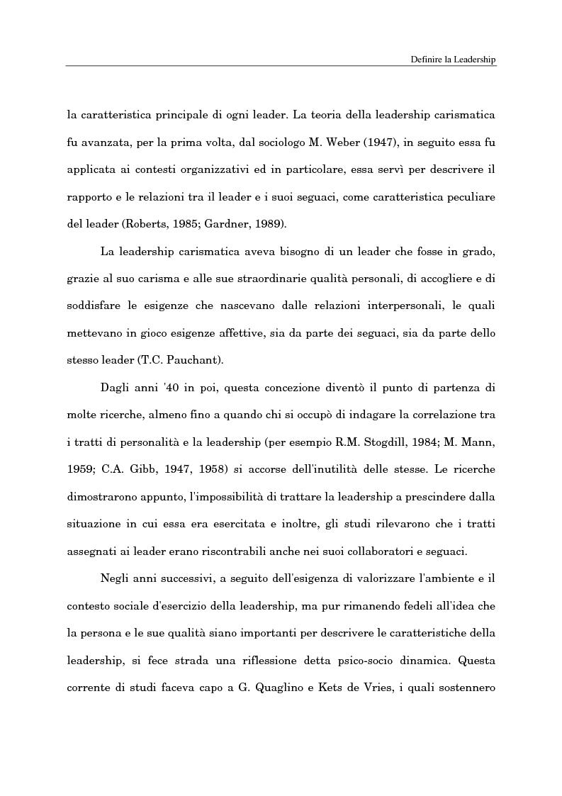 Anteprima della tesi: Il ruolo del capo intermedio oggi, Pagina 10