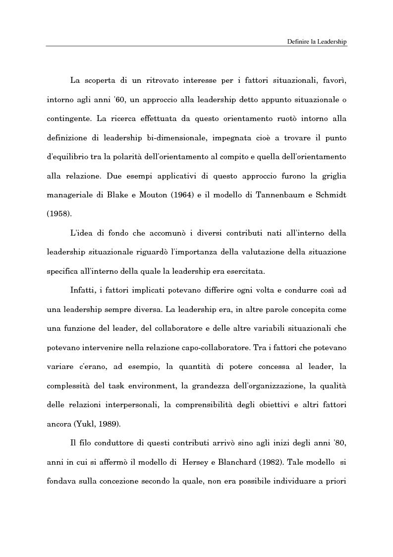 Anteprima della tesi: Il ruolo del capo intermedio oggi, Pagina 12