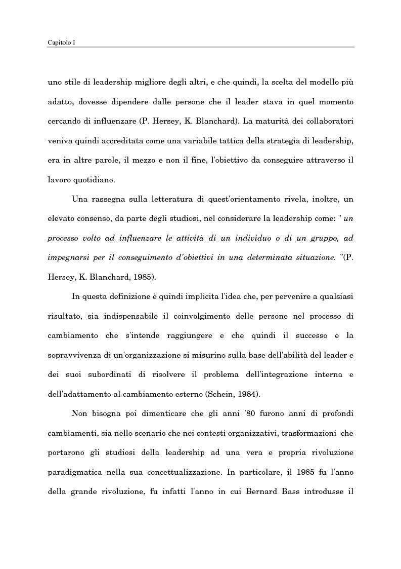 Anteprima della tesi: Il ruolo del capo intermedio oggi, Pagina 13