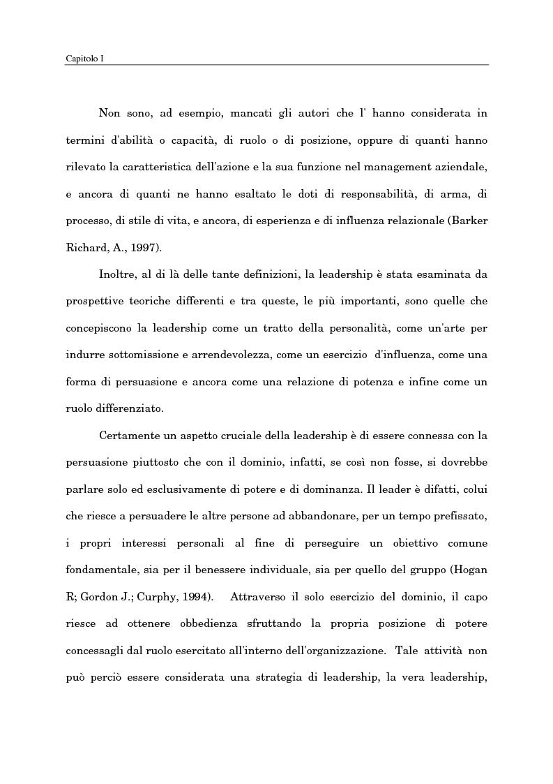 Anteprima della tesi: Il ruolo del capo intermedio oggi, Pagina 7