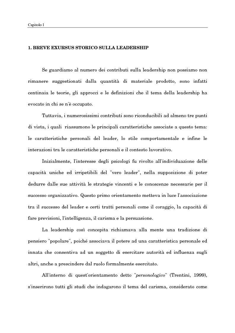 Anteprima della tesi: Il ruolo del capo intermedio oggi, Pagina 9