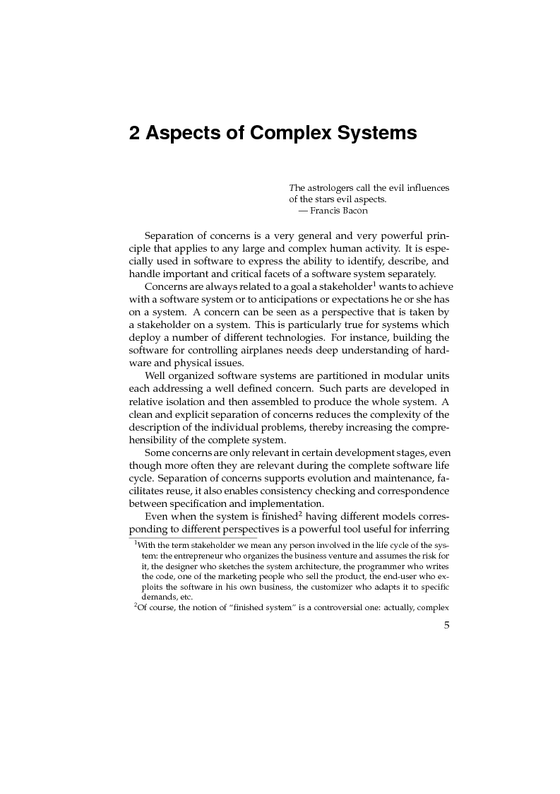 Anteprima della tesi: Towards Software Components for Non Functional Aspects, Pagina 5