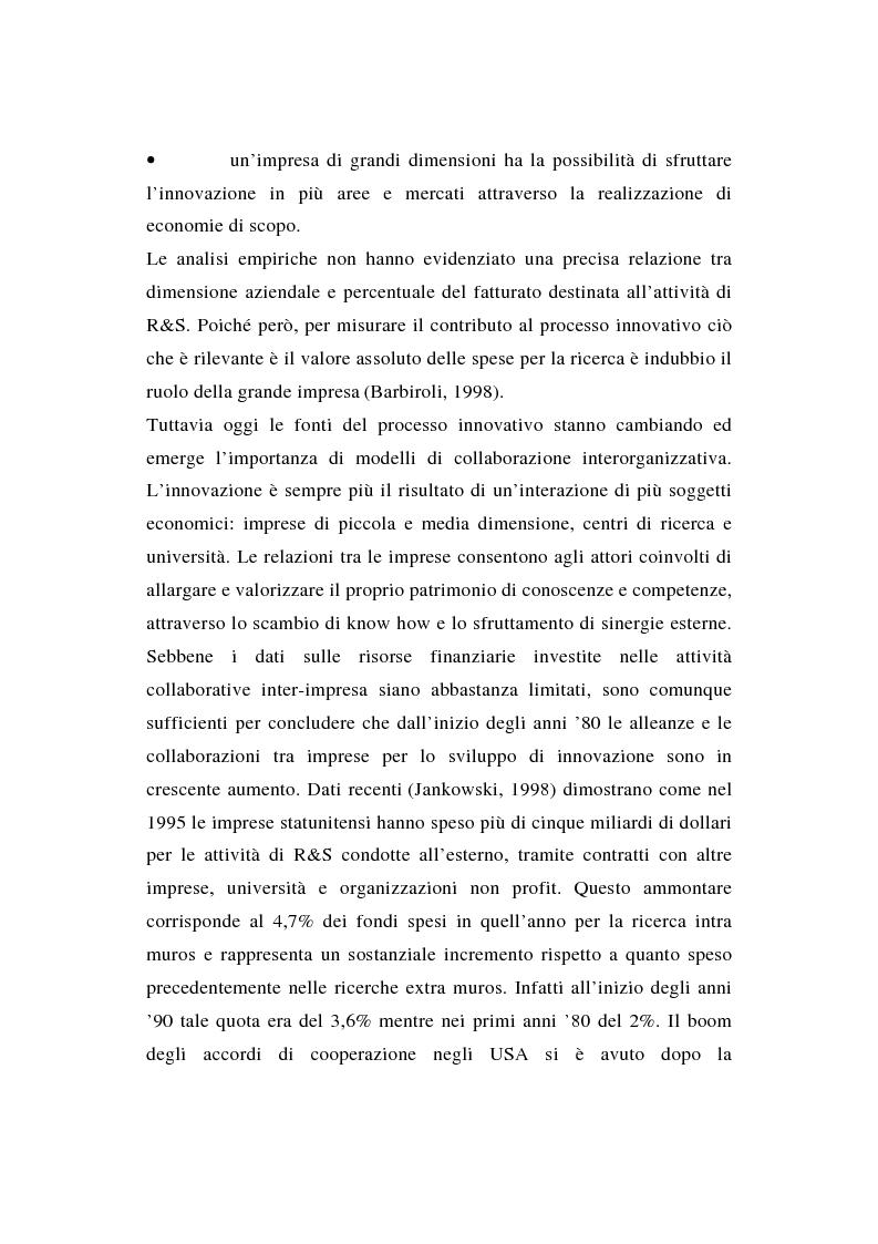 Anteprima della tesi: La ricerca e sviluppo industriale: situazione negli Stati Uniti, Pagina 6