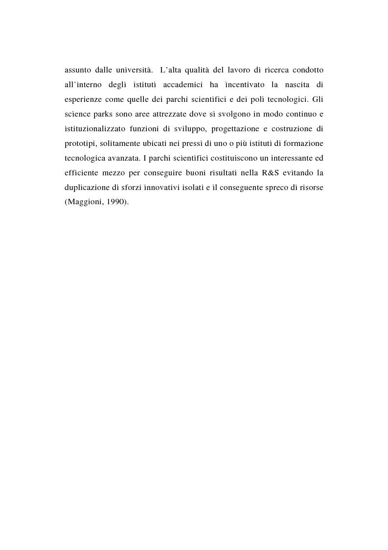 Anteprima della tesi: La ricerca e sviluppo industriale: situazione negli Stati Uniti, Pagina 9