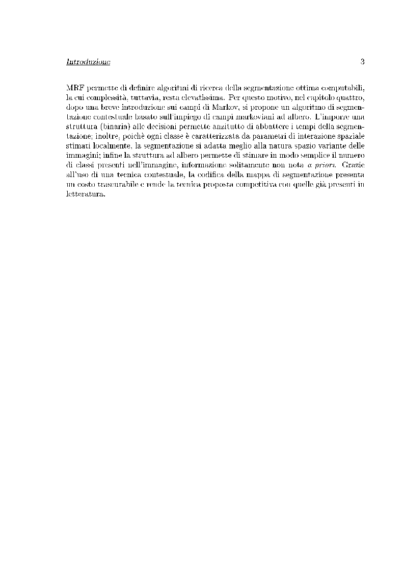 Anteprima della tesi: Compressione di immagini multispettrali, Pagina 3