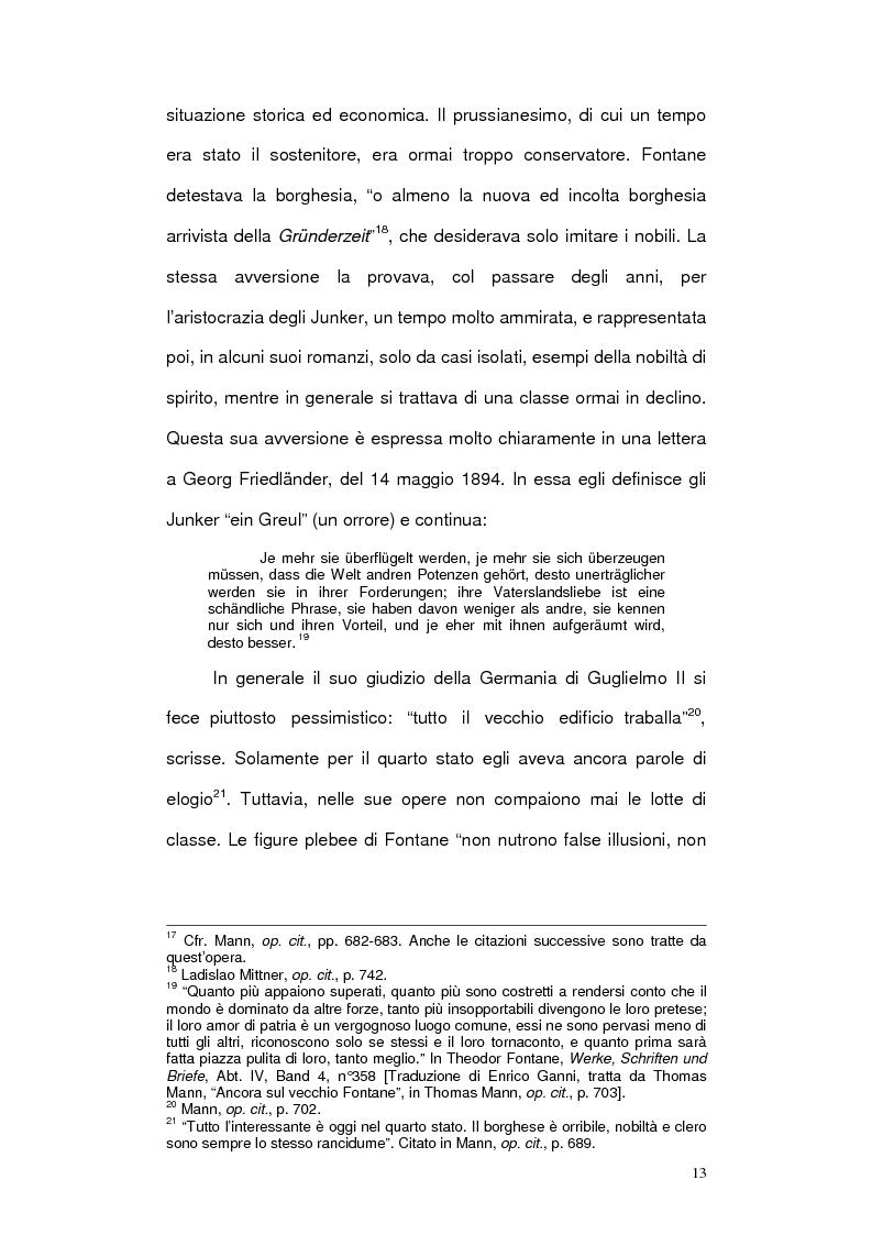 Anteprima della tesi: Letteratura e cinema in Germania. Effi Briest di Theodor Fontane e le sue trasposizioni cinematografiche, Pagina 11