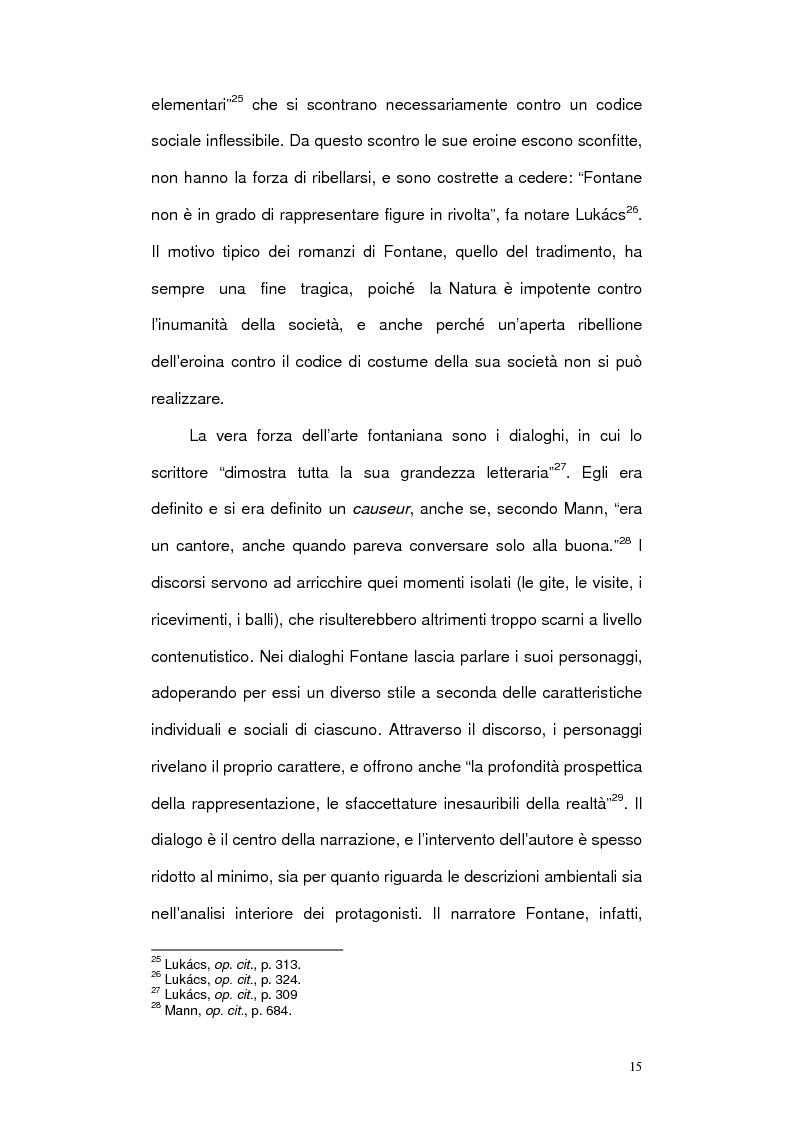 Anteprima della tesi: Letteratura e cinema in Germania. Effi Briest di Theodor Fontane e le sue trasposizioni cinematografiche, Pagina 13