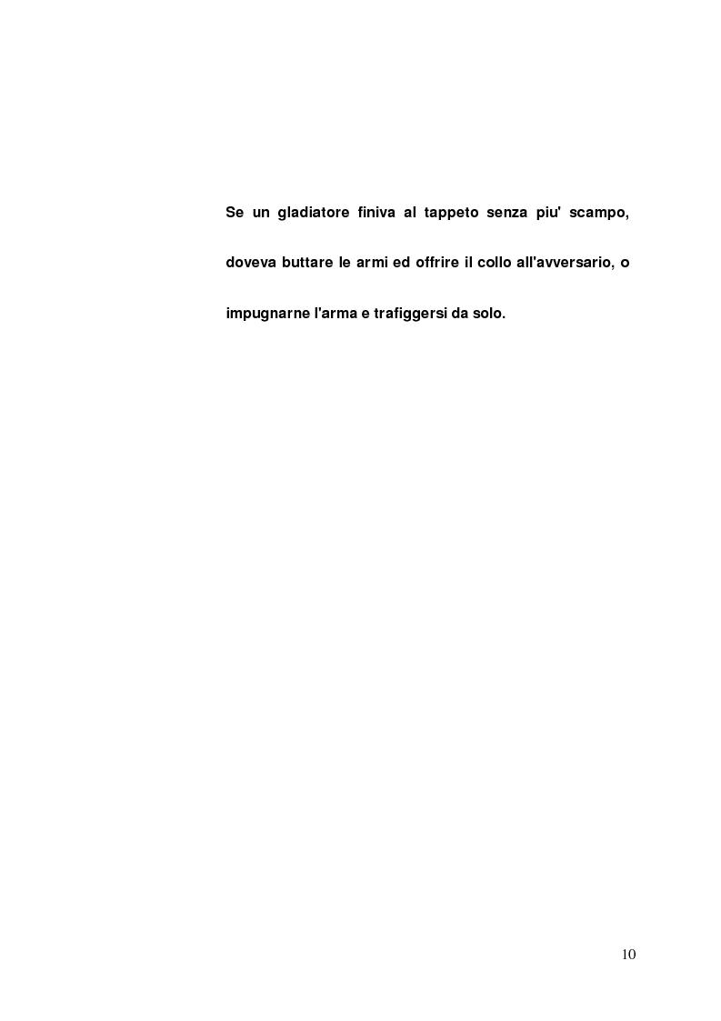Anteprima della tesi: I gladiatori, Pagina 8