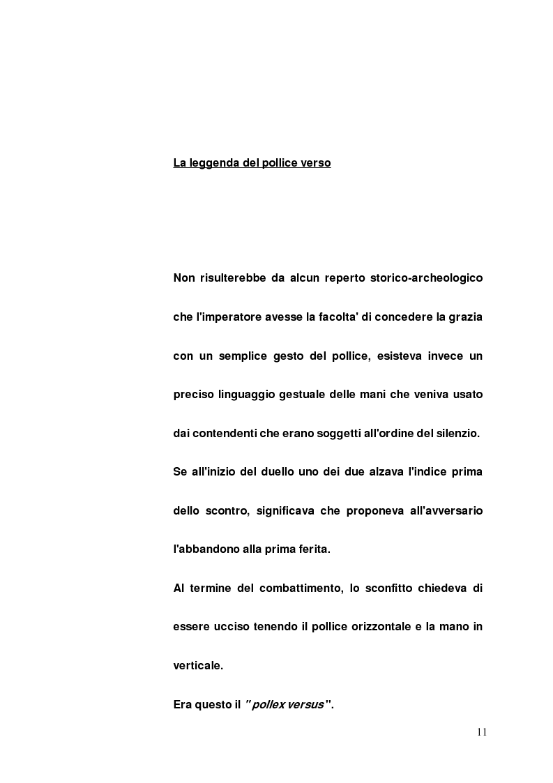 Anteprima della tesi: I gladiatori, Pagina 9