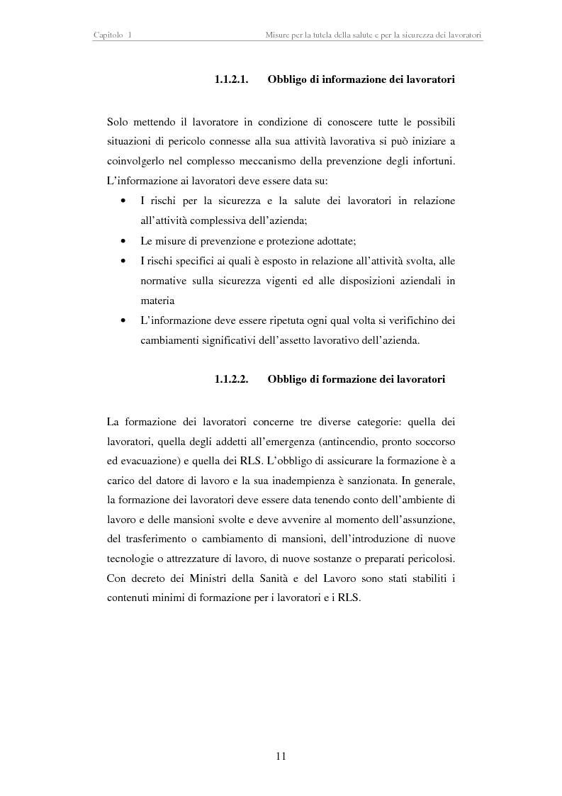 Anteprima della tesi: Stesura di procedure di lavoro per i laboratori di didattica e ricerca scientifica, Pagina 11