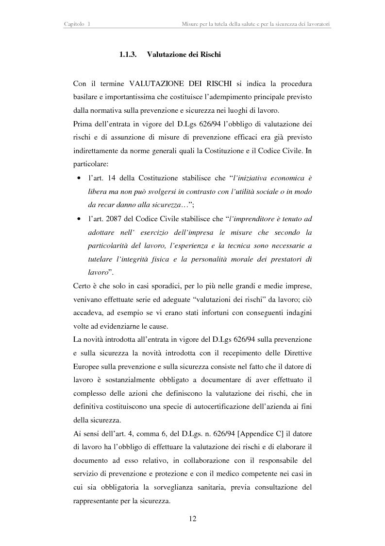 Anteprima della tesi: Stesura di procedure di lavoro per i laboratori di didattica e ricerca scientifica, Pagina 12