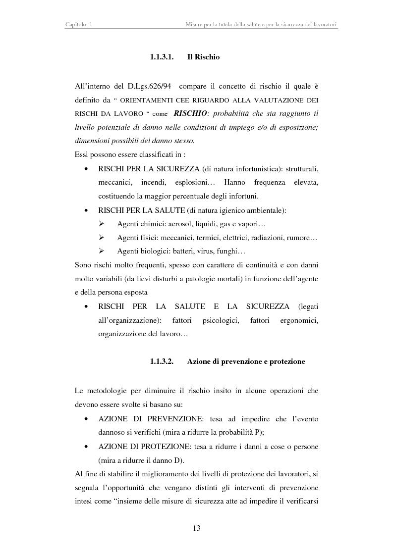 Anteprima della tesi: Stesura di procedure di lavoro per i laboratori di didattica e ricerca scientifica, Pagina 13