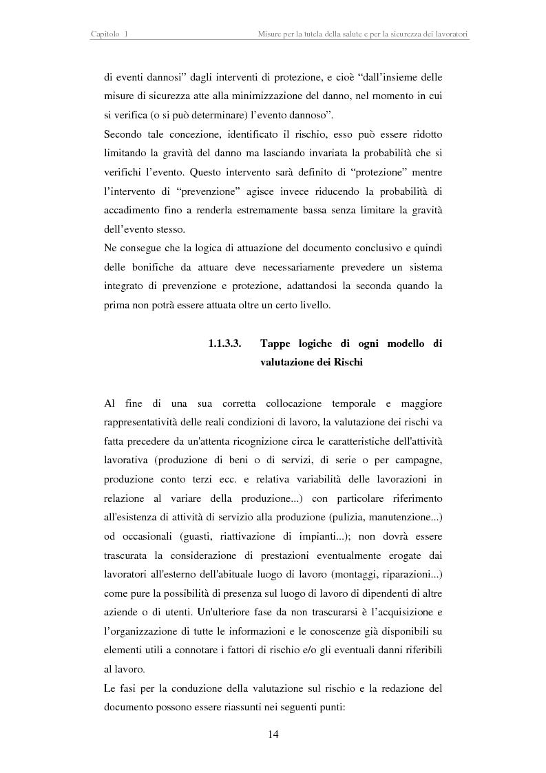 Anteprima della tesi: Stesura di procedure di lavoro per i laboratori di didattica e ricerca scientifica, Pagina 14