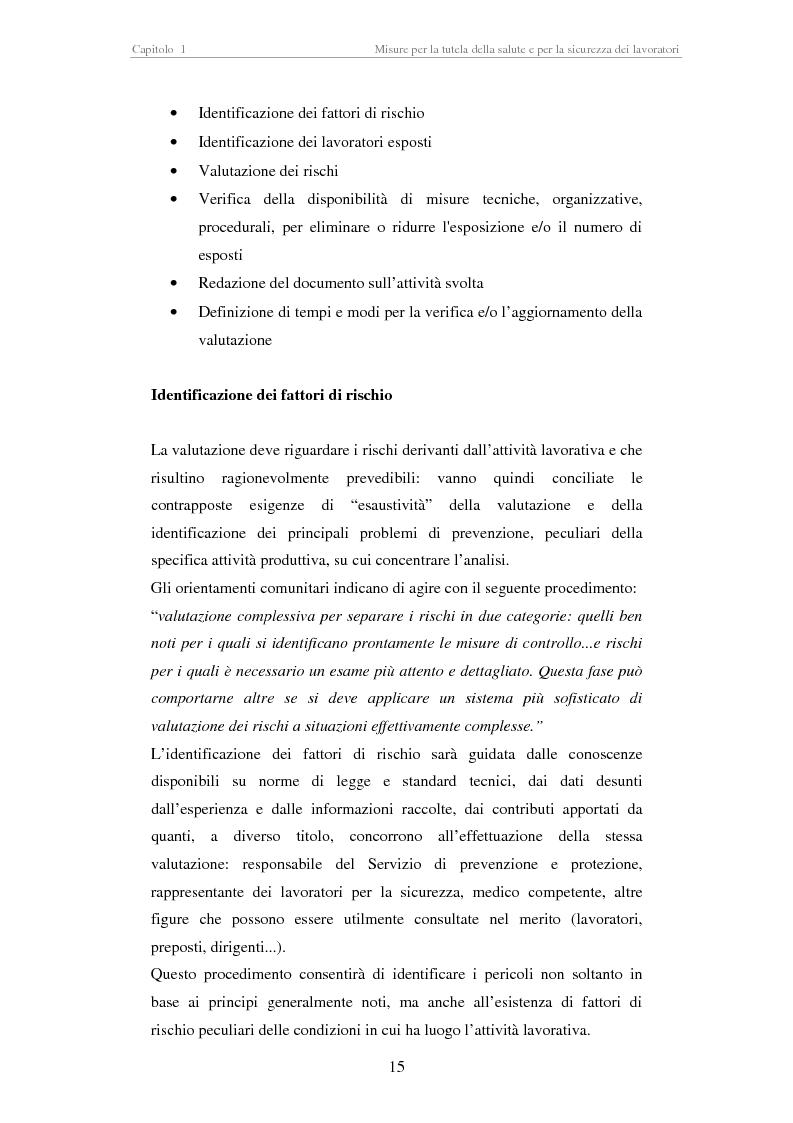 Anteprima della tesi: Stesura di procedure di lavoro per i laboratori di didattica e ricerca scientifica, Pagina 15