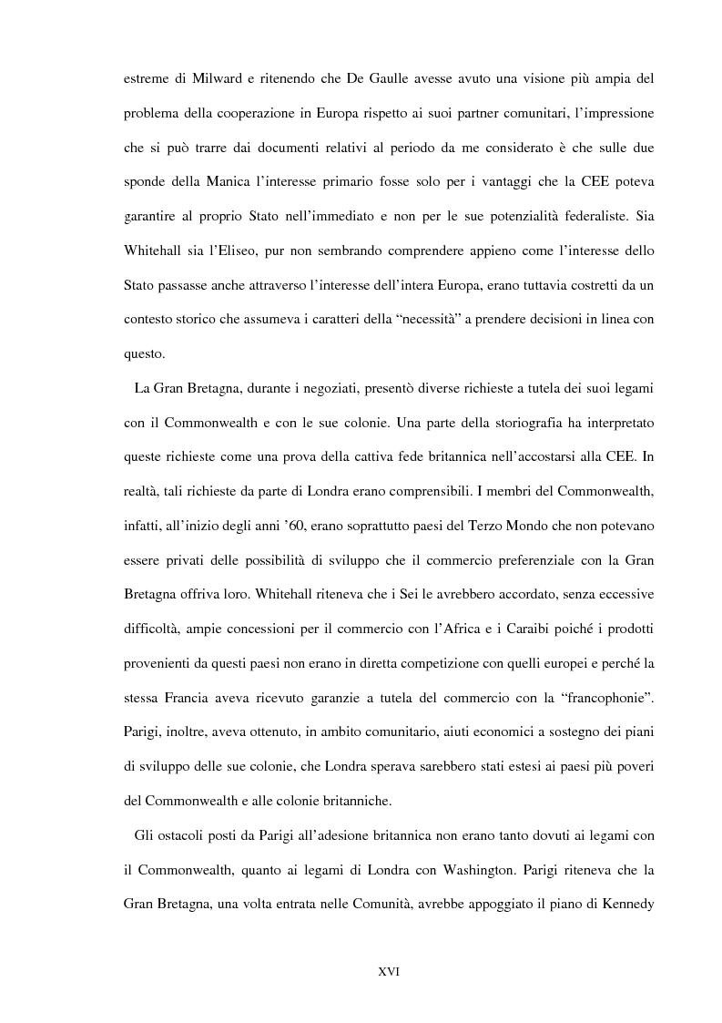 Anteprima della tesi: Una scelta contrastata. L'adesione del Regno Unito alla Comunità europea (1945-1963), Pagina 10