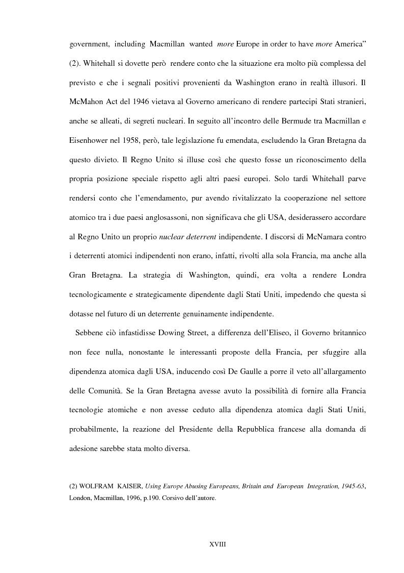 Anteprima della tesi: Una scelta contrastata. L'adesione del Regno Unito alla Comunità europea (1945-1963), Pagina 12